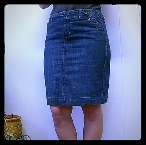 Gap Jeans Limited Edition Jean Skirt